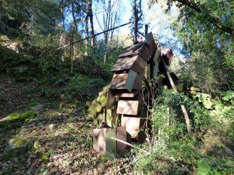 Un moulin en métal
