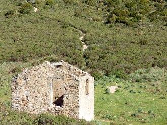 La maison de pierres du mont Gozzi