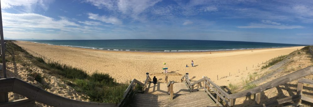 Une plage dans les Landes
