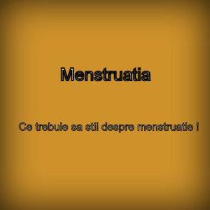 menstruatia