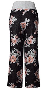 AMiERY Women's Casual Pajama Pants Floral 5