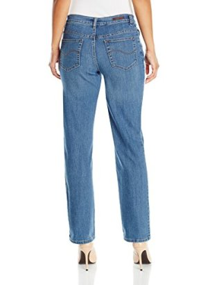 LEE Women's Petite Relaxed Fit Straight Leg Jean 2