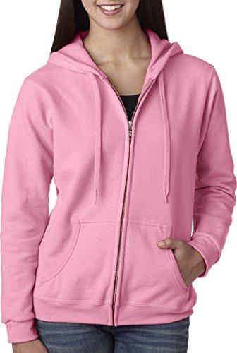 Gildan Women's Full Zip Hooded Sweatshirt