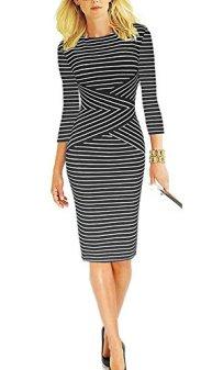 Work Business Cocktail Pencil Dress 2