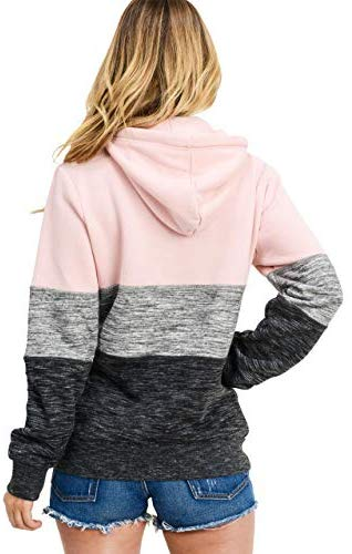 Esstive Women's Ultra Soft Pullover Hoodie Sweatshirt