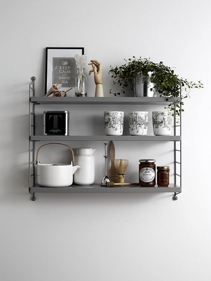 String-shelves