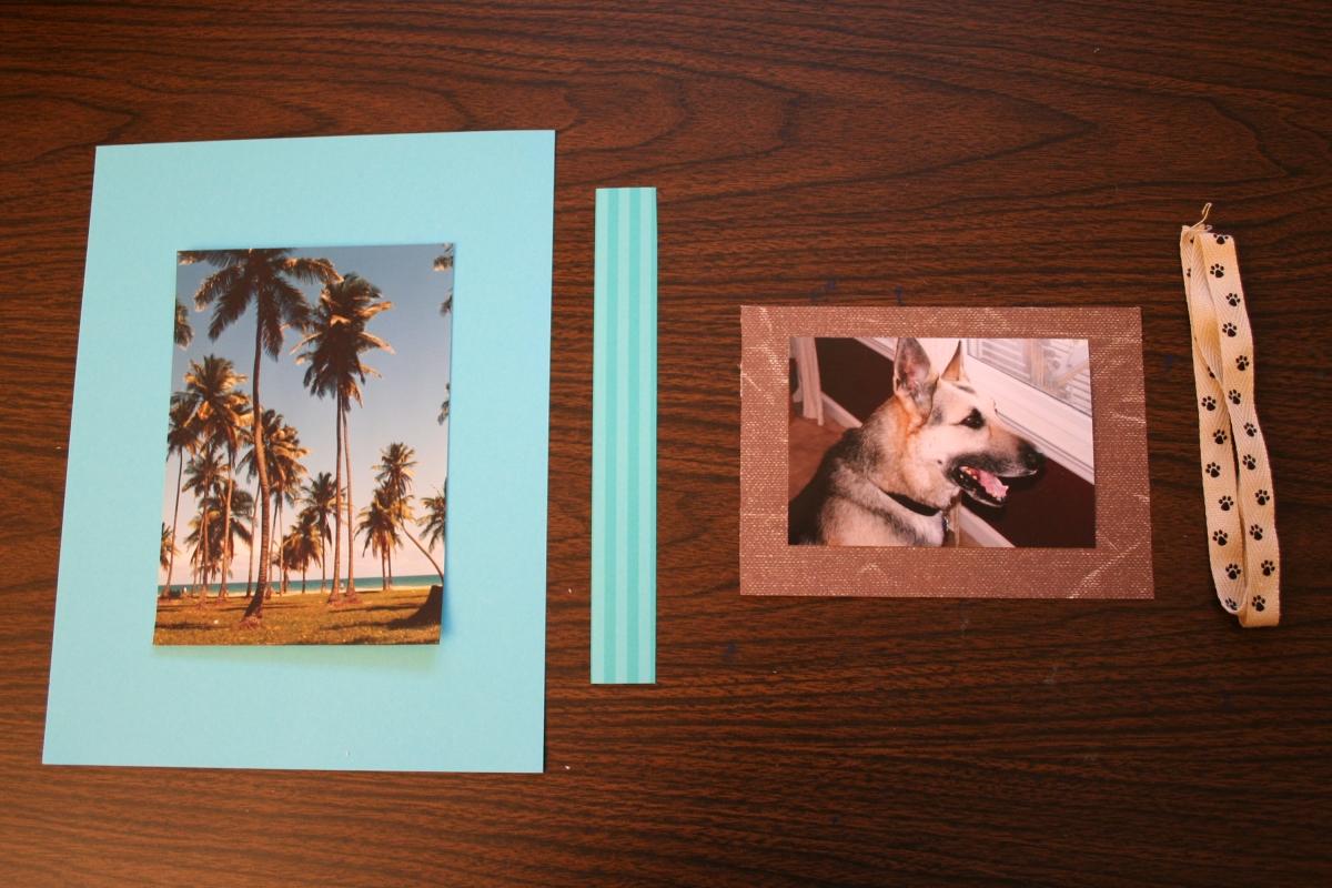 How to make photo corners