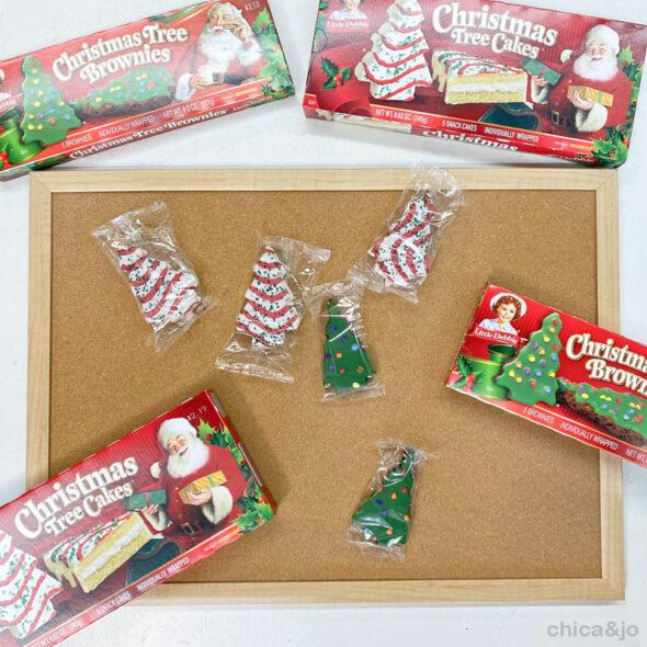little debbie christmas tree cake advent calendar 02