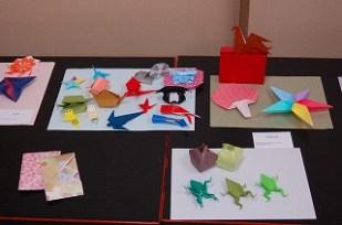 小さな折り紙作品♪