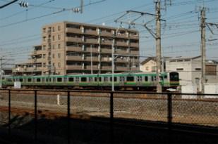 高崎線を走る電車・その1♪