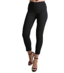 Ελαστικό παντελόνι ψηλόμεσο (Μαύρο)