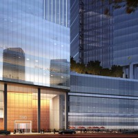 Rendering of 590 West Madison (Courtesy of Goettsch Partners)
