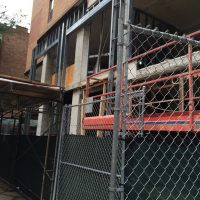 Construction at the Chestnut Place Apartments (Courtesy of Gold Coast Spy Tim)