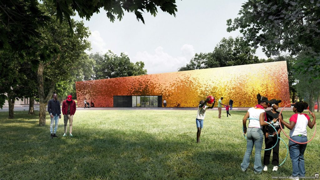 Rendering of Williams Park Fieldhouse (Courtesy of STLArchitects)