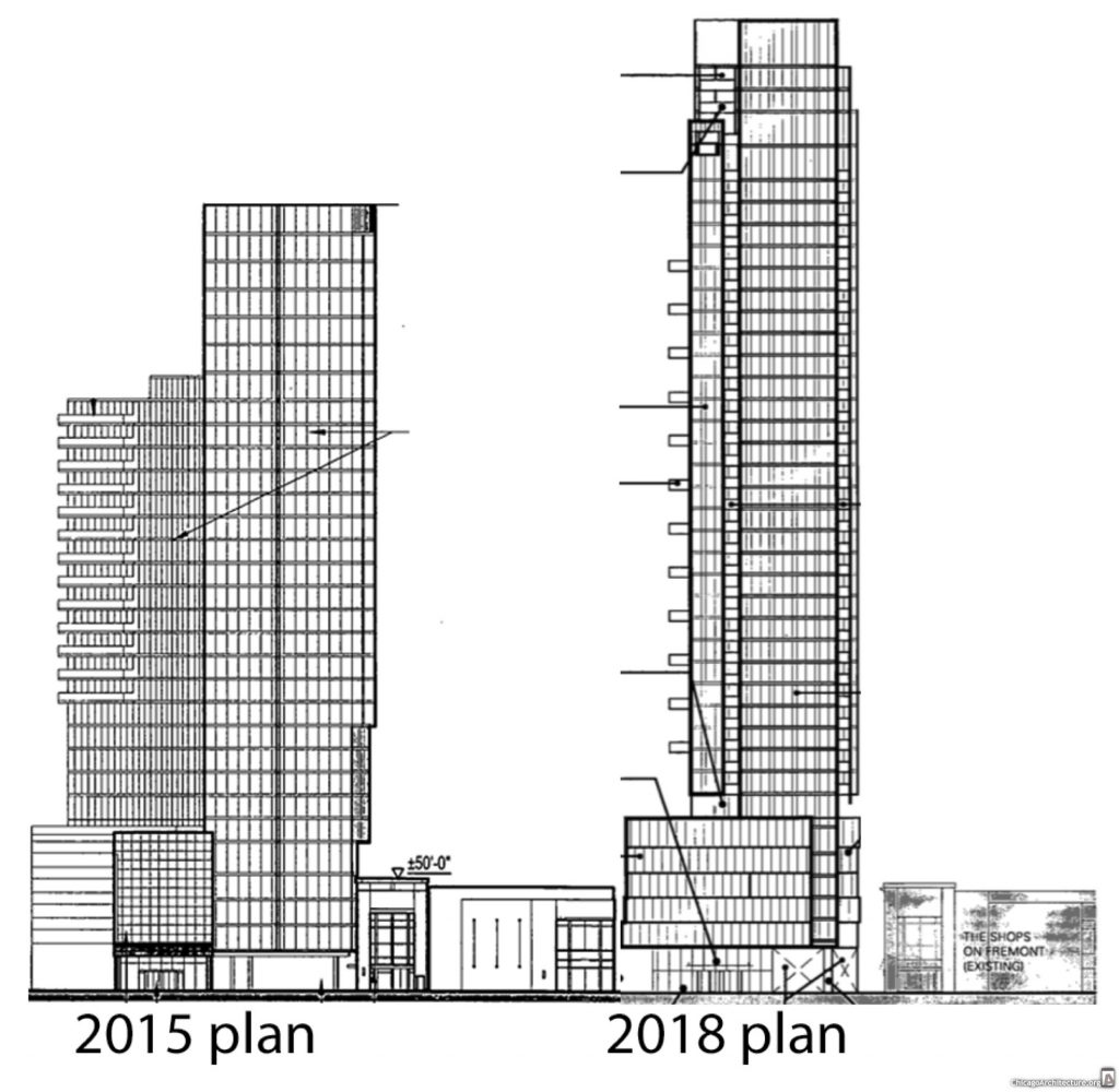 Weed Street Residential Tower Back With New Design And A