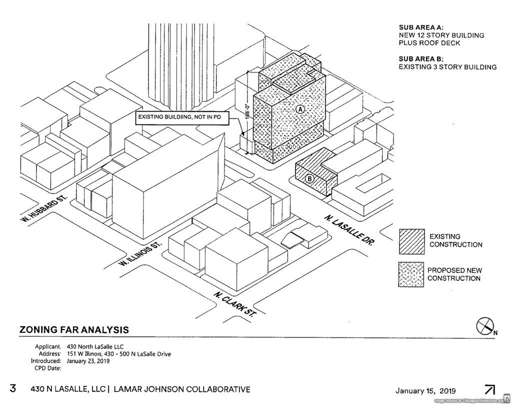 Office Building Penciled In For Illinois And Lasalle