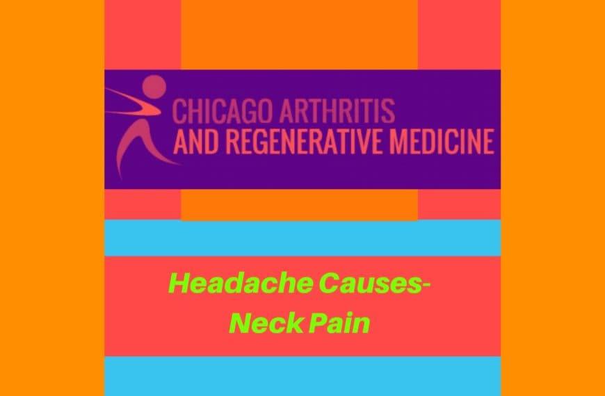 Headache Causes- Neck Pain