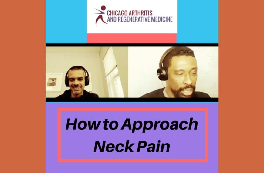 How to approach Neck pain