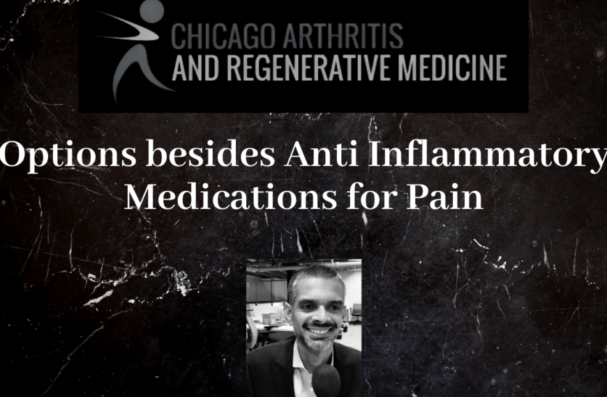 Options for Pain Besides Anti Inflammatory medications