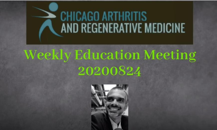 Weekly Education Meeting 20200824