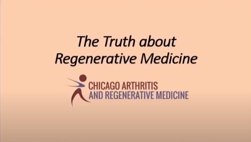 The Truth about Regenerative Medicine