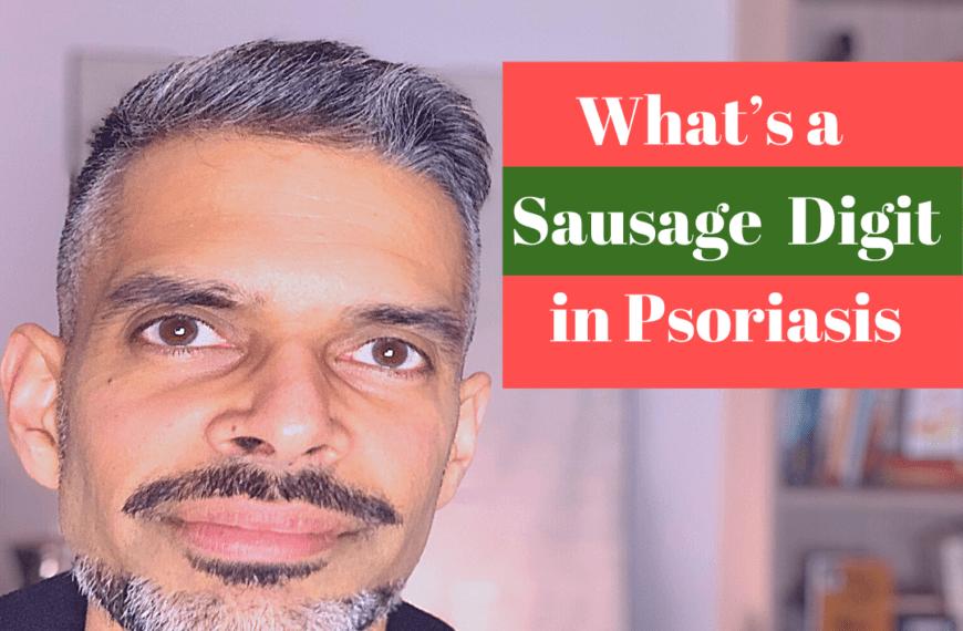 Sausage Digit in Psoriasis