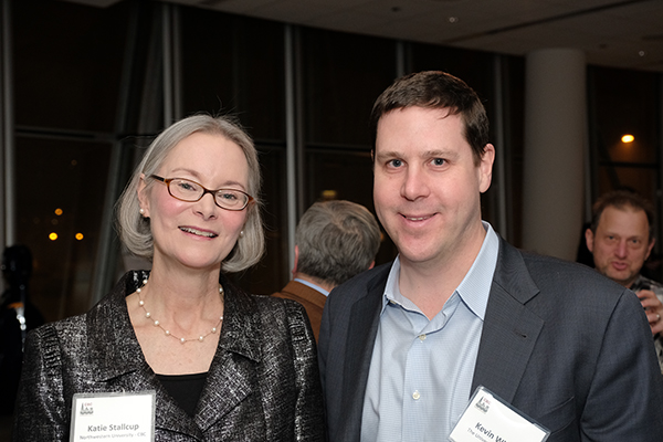 Katie Stallcup, CBC Executive Director and Kevin White, UChicago and Tempus