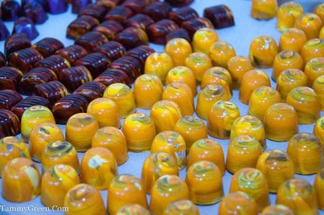 Painted Pumpkin Chocolates   Les Nomades