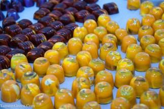 Painted Pumpkin Chocolates | Les Nomades