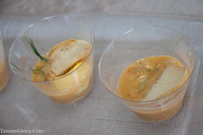 Saffron Fish Soup   Cafe des Architectes