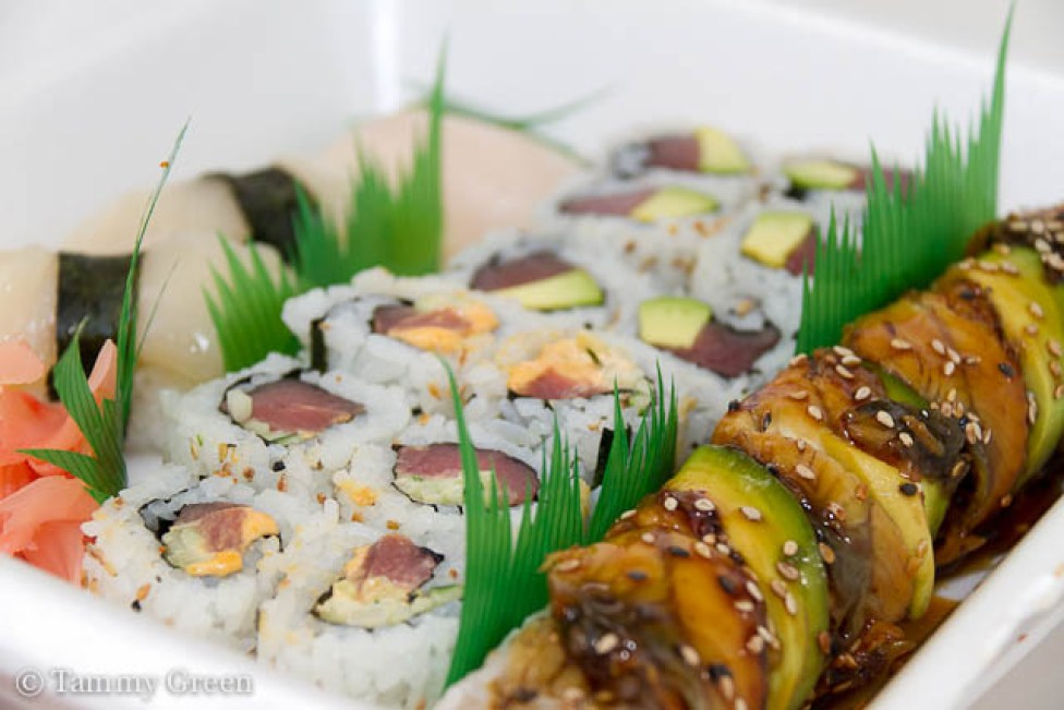 Sushi from Lawrence Fish Market