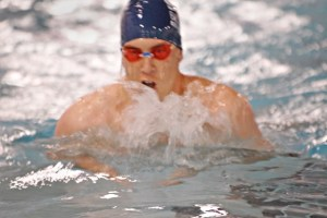 Adult competitive swimmer