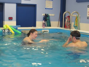 Endless pools in our swim studio help you learn to swim better, faster.
