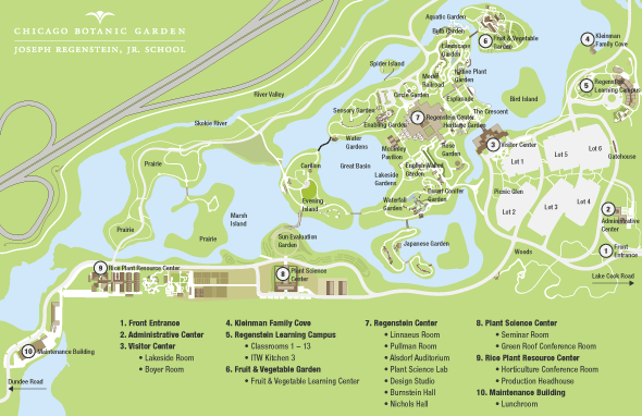 Image Result For Chicago Botanic Garden