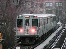 CTA Brown Line Train