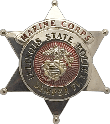 illinois state police star