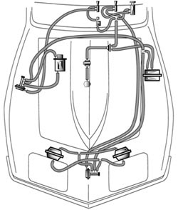 Headlight & Wiper Vacuum Hose Kits & Related · 1968-82
