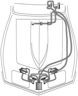 Windshield Wiper & Headlight Vacuum Hose Kits & Related