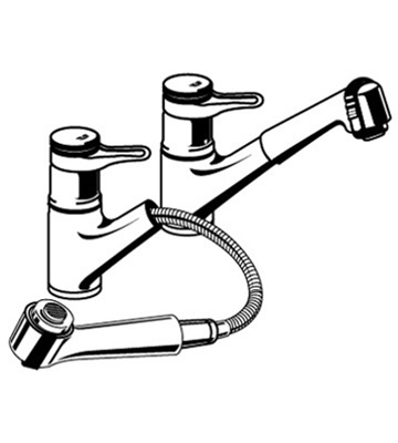grohe kitchen faucets repair remodeled kitchens images europlus - 33 853 pull out spray faucet parts