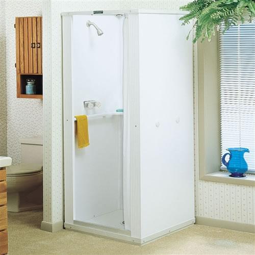 Mustee 30 Durastall Shower Stall 30x30 Standard Base