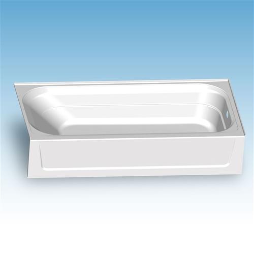 Mustee T6030R Topaz Fiberglass Bathtub