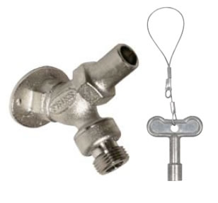 Prier C255CP75 C255 Angle Sill Faucet  Loose Key  34