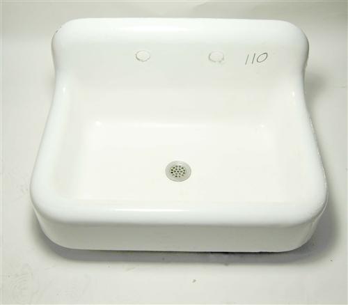 Kohler Vintage Cast Iron Sink with Backsplash