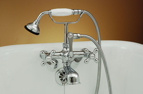 Strom Plumbing P0146  British Telephone Clawfoot Tub Faucet