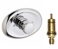 """Grohe 19 419 000 3/4"""" Thermostatic Shower Trim Complete ..."""