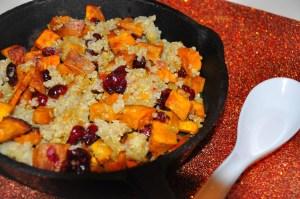 quinoa-bakedsweetpotatoes-cranberries-chicagofoodgirl