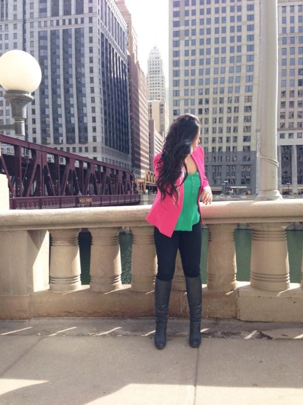 chicagofoodgirl-bcbg-pink-blazer