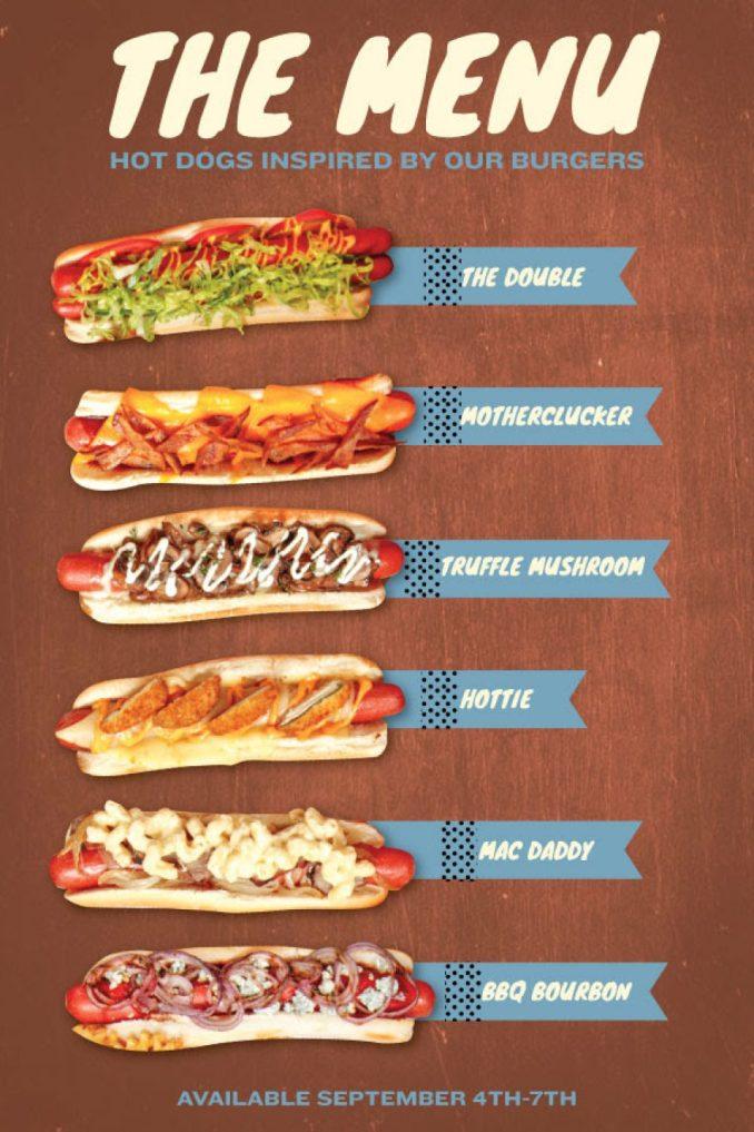Labor Day Hot Dog Takeover at Rockit Burger Bar | Chicago