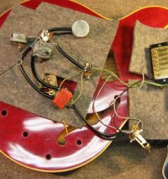vintage 1965 gibson es345 wiring repair [ 2592 x 1944 Pixel ]