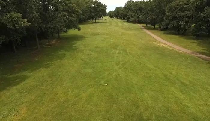 Foss Park Golf Course - 13th Hole